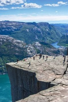 Pulpit Rock, Preikestolen, Norway - Natural Wonders Around the World You'll Have to See to Believe - Photos