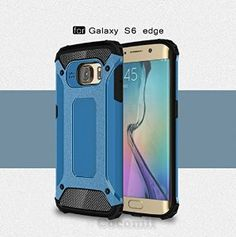 BEST Galaxy S6 Edge Case, Cocomii® [HEAVY DUTY] Commando Case *NEW* [ULTRA BONIC ARMOR] Premium Dustproof Shockproof Bumper - Full-body Rugged Hybrid Protective Cover Bumper Case for Samsung Galaxy S6 Edge • Unique, rugged design with style and the utmost protection • Raised edge around the front lip for face-down protection • Extreme protection from drops and scratches • Unique, aesthetic dustproof design that adds beauty • 5% Off Coupon Code 6BXA7NOZ This Week Only!
