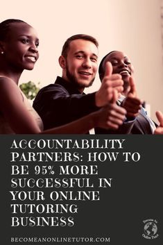 Many online tutors want to be successful as soon as they launch their online tutoring business. Accountability partners help you do that!  Accountability partners guide you, support you and help you focus on your business.  Check out this video and learn how to create an accountability group! #onlinetutor #tutor #tutoring #onlinetutoring #tutoringbusiness #accountability #accountabilitypartners #tutorbusiness #onlinetutoringbusiness Tutoring Business, Reading Tutoring, Job Security, Business Checks, Free Facebook, Online Tutoring, Free Ebooks, Accounting, Fun Facts