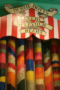 Bertie Bott's Every Flavour Beans - HoneyDukes - Islands of Adventure - Orlando, Florida by Andrew_Simpson, via Flickr