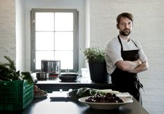 """""""Prince of Denmark"""" from the NYTs. Executive chef, René Redzepi, of Copenhagen's Noma which is considered the world's best restaurant...famous for its """"New Nordic"""" cuisine. (Restaurant/Copenhagen)"""