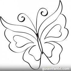 Mariposa para imprimir