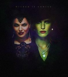 The Evil Queen versus The Wicked Witch Once Upon a Time season 3
