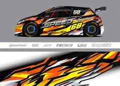 3d Racing, Racing Car Design, Bus Games, Freepik Vector, Car Painting, Car Wrap, Rc Cars, Decal, Wraps