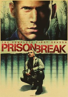 Prison Break posters Classic popular TV drama Decorative Retro Vintage Kraft Poster DIY Wall Home Bar Posters Decor Gift * Check out this great article. #HomeDecor
