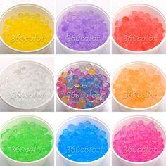 10 Bags Magic Crystal Mud Soil Gel Water Beads Jelly Ball Wedding Decor Planting