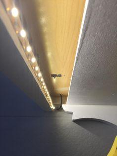 Sticky LED light strips