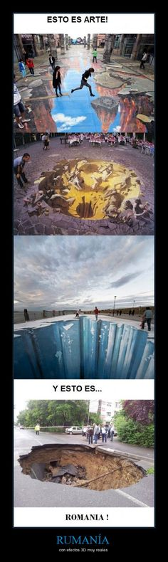 RUMANÍA - con efectos 3D muy reales