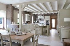Neptune by Global Village Kitchen Malahide Kitchen Paint, Kitchen Design, Global Village, Ireland Homes, Parisian Apartment, Living Magazine, Coastal Cottage, New Homes, Home And Garden