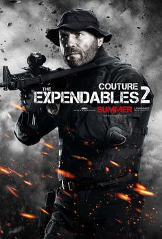 "Couture as "" "" in Expendables"