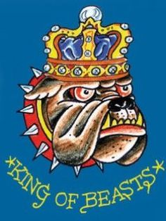 King of Beasts by Ed Hardy