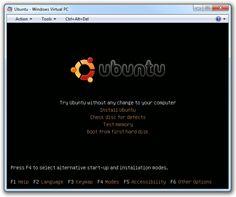 How to run Linux under Windows 7's Windows Virtual PC