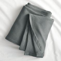 classic graphite blanket  | CB2
