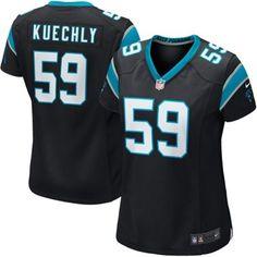 Luke Kuechly Carolina Panthers Nike Women's Team Color Game Jersey - Black