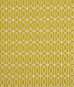 Bella Porte Citrine Fabric...now to find someone to sew me curtains!