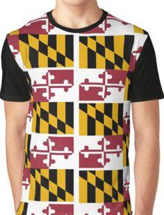 Maryland Flag: T-Shirts | Redbubble