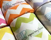 colorful chevron baby blankets... also, a grey mustache blanket.  so cute.  but not cutesy