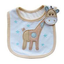 COMFY KIDS 2017 Hot Selling New Fashion feeding baby Bibs Baby Infants Kids Bibs Baby Lunch Bibs Cute Towel 3 Layer Waterproof(China)