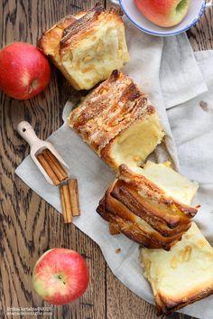 La tana del coniglio: Pull apart bread alle mele, zenzero e cannella