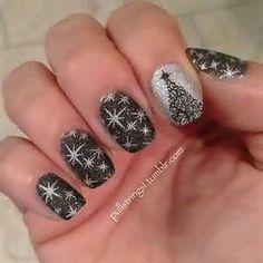 new years Glitter Nail Art Design - Bing images