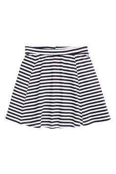 H&M - Striped jersey skirt £4.99