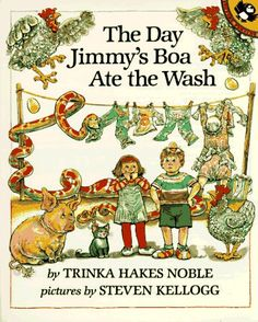 Follow along - think ahead - cause and effect - love it. Remember using this story in class a child as mentor text