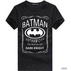 b514e2c96 2017 Summer Unisex Batman Dark Knight Short-sleeve Shirt Casual Cotton T-shirt  Summer Top Tees