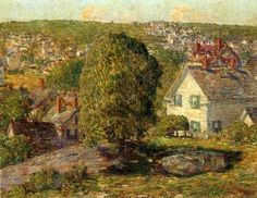 Frederick Childe Hassam, Outskirts of East Gloucester - circa 1918