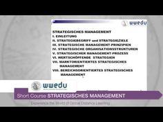 """Auszug aus dem Short Course """"Strategisches Management"""" - Nähere Informationen zum Kurs finden Sie auf unserer Website unter folgendem Link: http://wwedu.com/studien/short-courses/strategisches-management/"""