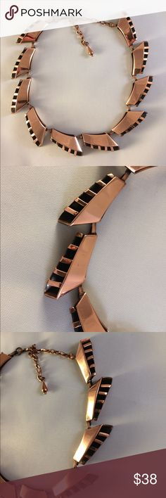 Three dimensional Mid century copper choker Three dimensional mid century copper choker, exceptional quality and condition. Measures 17 inches end to end. No markings. Jewelry Necklaces