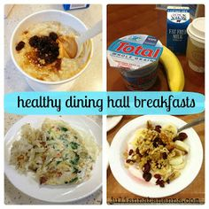 Julianna Bananna: healthy eating in the dining hall {from a college freshman's perspective}.