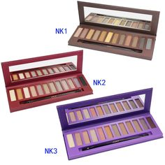 Joly Cosmetic 12 Color NK1 NK2 NK3 Eyeshadow Eye Shadow Palettes Makeup Brushes (NK1 NK2 NK3) >>> Want to know more, click on the image. (Note:Amazon affiliate link)
