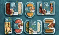 Packagedesing Verpackungsdesign Marks & Spencer: Plant packaging by Coley Porter Bell Food Branding, Food Packaging Design, Logo Food, Food Design, Design Design, Graphic Design, Delivery Comida, Salad Packaging, Coffee Packaging