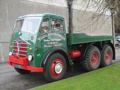 FODEN STG Timber winch - James Jones & Sons Vintage Trucks, Old Trucks, Motor Car, Motor Vehicle, James Jones, Old Lorries, Old Wagons, Custom Big Rigs, Cool Vans