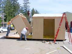 Tiny House Kits by SingCore - http://www.tinyhouseliving.com/tiny-house-kits-by-singcore/