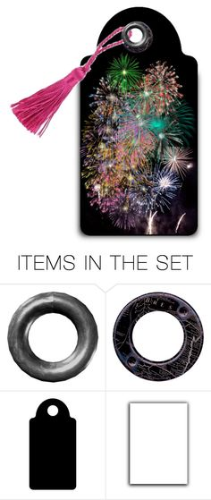 """Fireworks"" by sjlew ❤ liked on Polyvore featuring art"