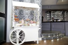 Our Vintage, Traditional Sweet Cart available for hire directly through Skylark - either hire it stocked up or bring your own selection! Sweet Carts, Skylark, Country Club Wedding, Golf, Traditional, Merry, Wedding Ideas, Furniture, Drink
