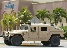 The High Mobility Multipurpose Wheeled Vehicle or Humvee