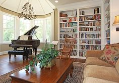 Library & Music Room