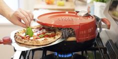 Every Pizza Lover Needs This Personal Stovetop Oven  - CountryLiving.com