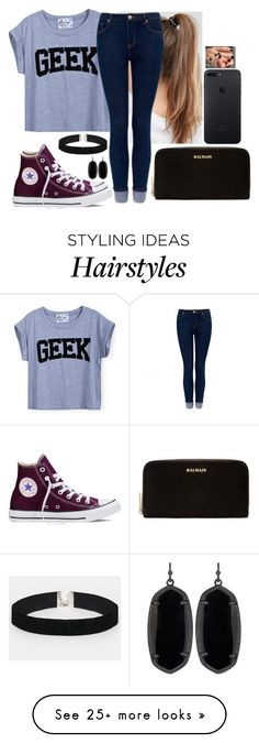 """"""" I am not a Geek I am Just smarter then u are"""" by hannahmcpherson12 on Polyvore featuring NIKE, Forever New, Converse, Balmain, ASOS and Kendra Scott"""