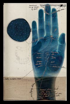#hand .... journal page | indigo moon