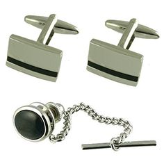 12mm x 12mm Jewel Tie 925 Sterling Silver Tie Tac