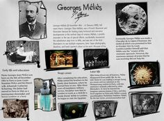 Georges Méliès Filmmaking, Innovation, Gallery Wall, Cinema, How To Make, Poster, Movies, Films, Movie Theater