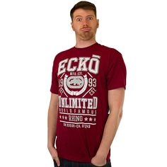 T-Shirt Ecko In the Mesh crimson