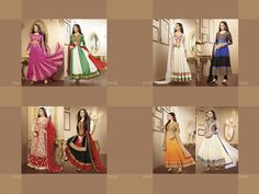 Sherlyn catalog of smart designer heavy suits   at avg. price Rs.2950/-