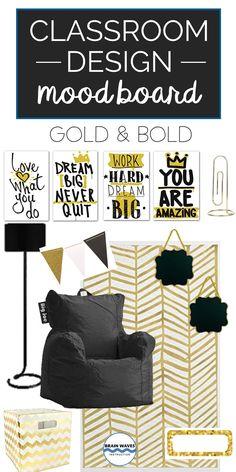 Middle School Classroom Design Ideas Black and Gold Classroom Decor 4th Grade Classroom, Middle School Classroom, English Classroom, Classroom Door, Classroom Design, Future Classroom, Classroom Themes, Classroom Organization, Classroom Borders