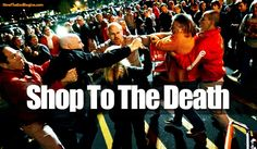 Disgusting 'Black Friday' Events Reveal A Dark And Evil Spirit Over America - Now The End Begins