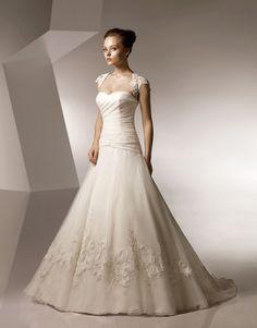 photos of princess bridal dresses | ウェディング » wedding dress » A-Line Princess Wedding Dress ...