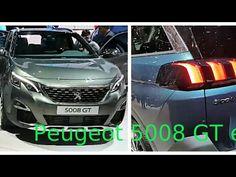 PEUGEOT 5008 ET 3008 Deux SUV haut de gamme Salon de Genève 2017